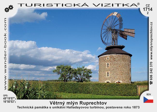 Větrný mlýn Ruprechtov
