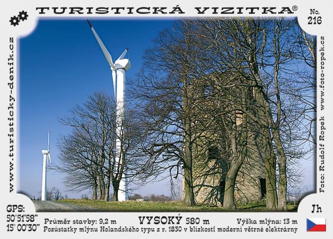 Větrný mlýn Vysoký