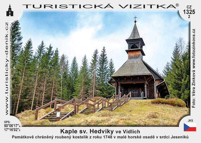 Kaple sv. Hedviky ve Vidlích