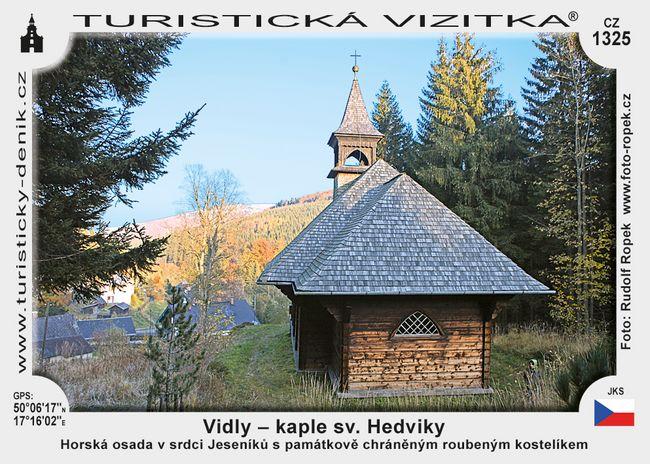 Vidly - kaple sv. Hedviky