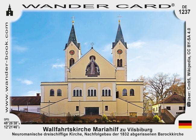 Wallfahrtskirche Mariahilf zu Vilsbiburg