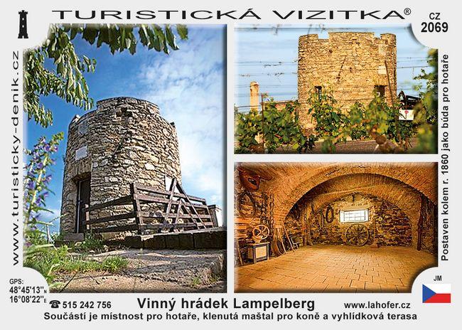 Vinný hrádek Lampelberg