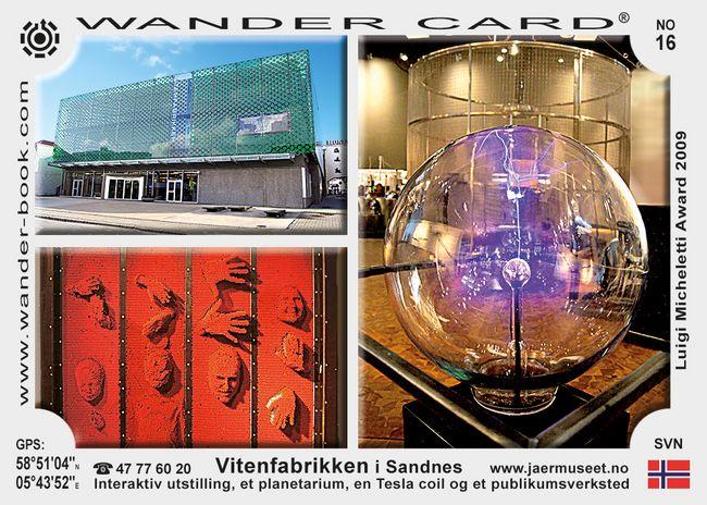 Vitenfabrikken i Sandnes
