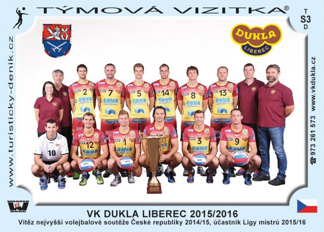 VK Dukla Liberec 2015/2016