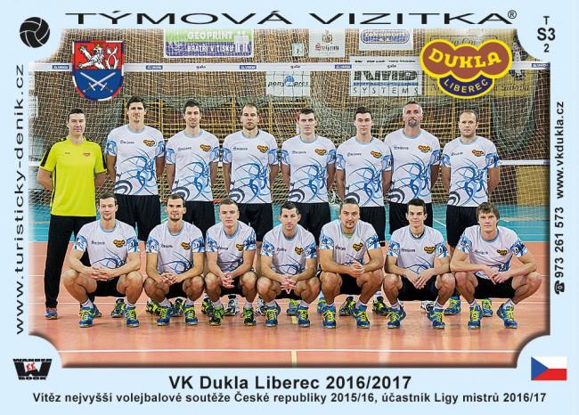 VK Dukla Liberec 2016/2017
