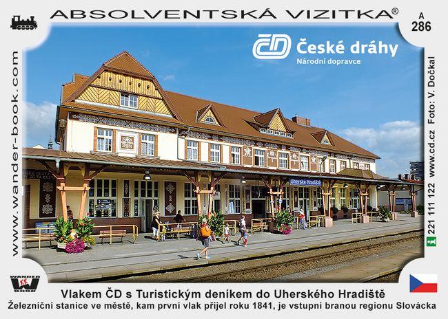 Vlakem ČD s Turistickým deníkem do Uherského Hradiště
