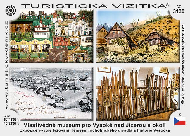 Vlast. muzeum pro Vysoké n. J. a okolí