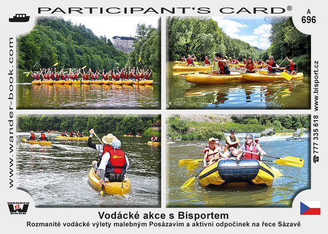 Vodácké akce s Bisportem