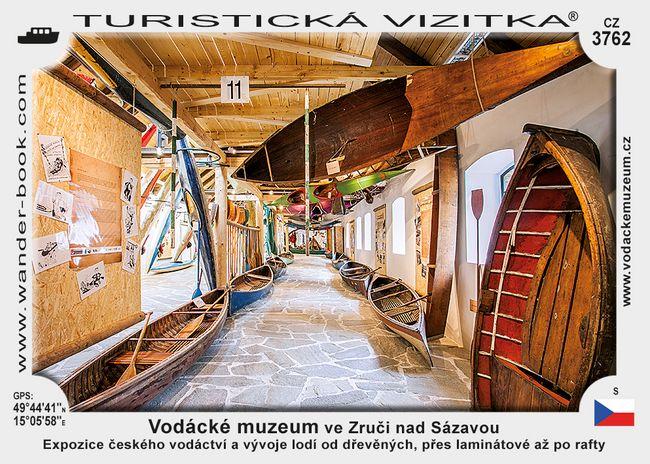 Vodácké muzeum ve Zruči nad Sázavou