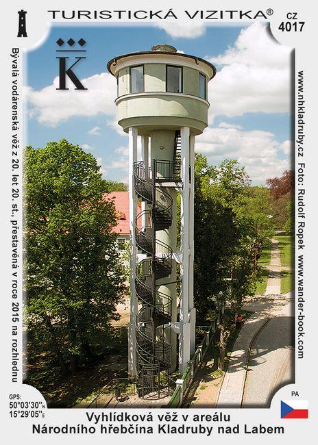 Vodárenská věž v Kladrubech nad Labem
