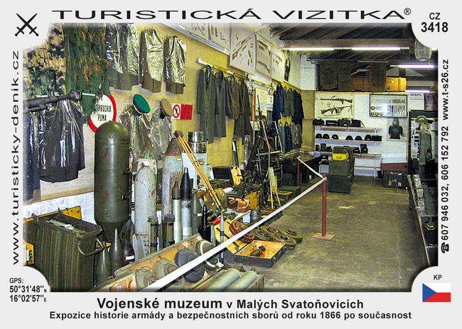 Vojens. muzeum v Malých Svatoňovicích