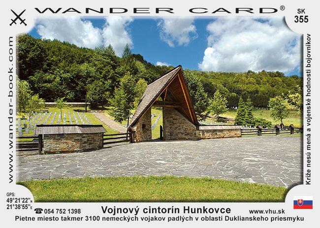 Vojnový cintorín Hunkovce