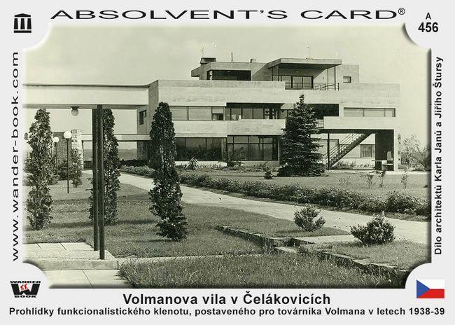 Volmanova vila v Čelákovicích