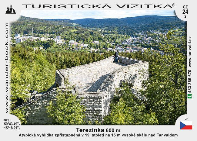 Vyhlídka Terezínka u Tanvaldu