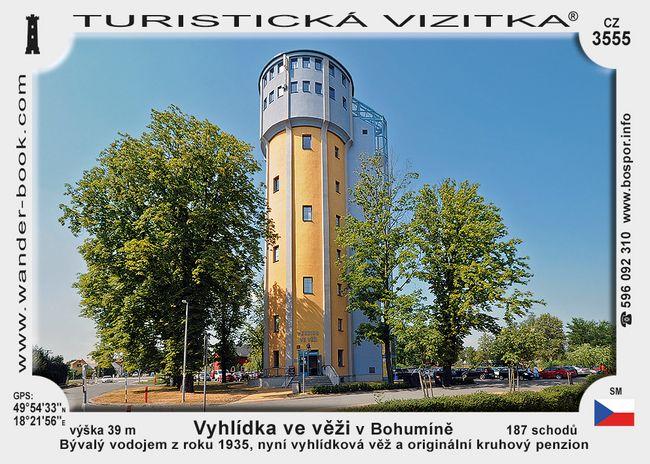 Vyhlídka ve věži v Bohumíně