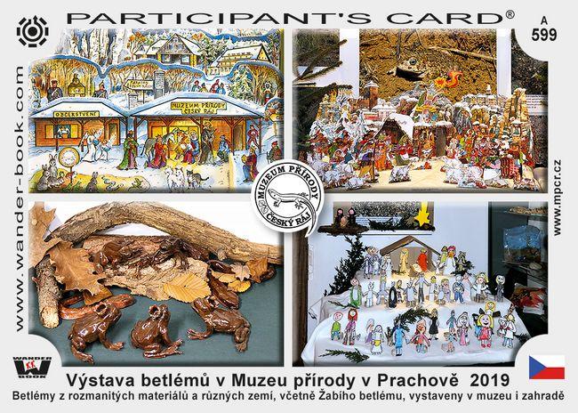 Výstava betlémů v Muzeu přírody v Prachově  2019