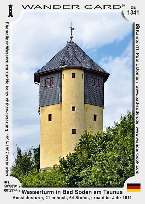 Wasserturm in Bad Soden am Taunus