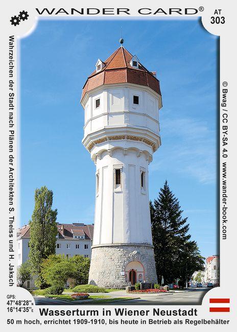Wasserturm in Wiener Neustadt