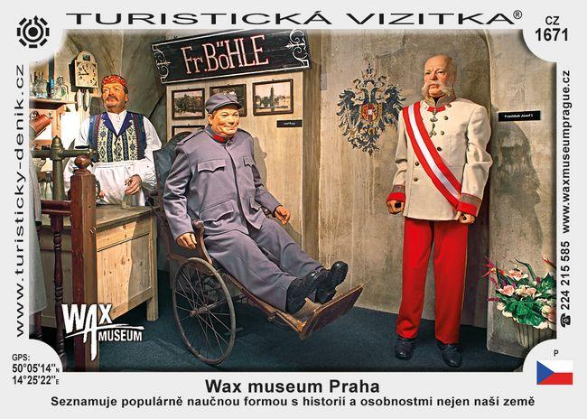 Wax museum Praha