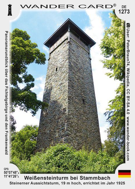 Weißensteinturm bei Stammbach