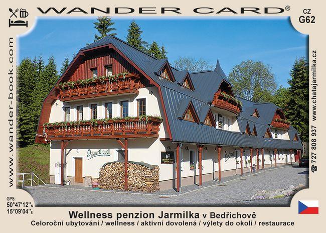 Wellness penzion Jarmilka v Bedřichově