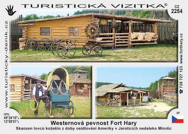 Westernová pevnost Fort Hary