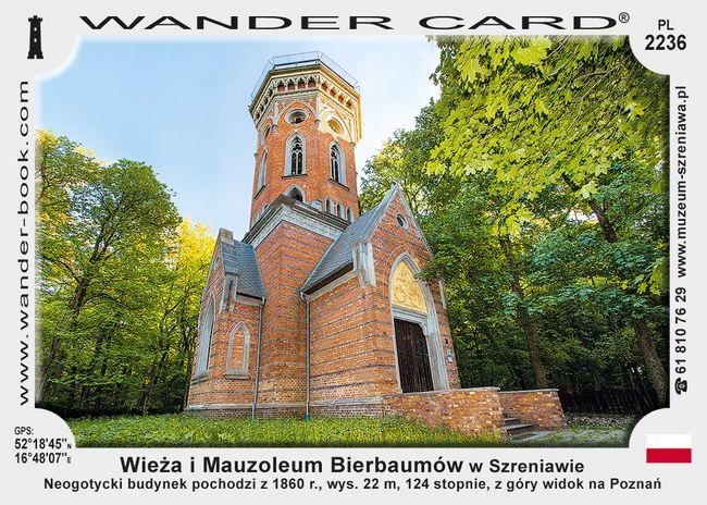 Wieża i Mauzoleum Bierbaumów w Szreniawie