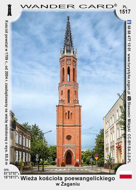 Wieża kościoła poewangelickiego w Żaganiu
