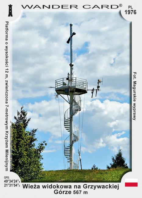 Wieża widokowa na Grzywackiej Górze
