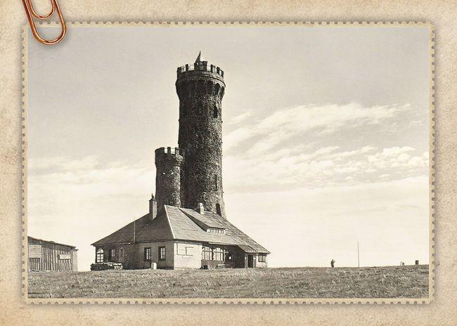 Wieża widokowa na Śnieżniku