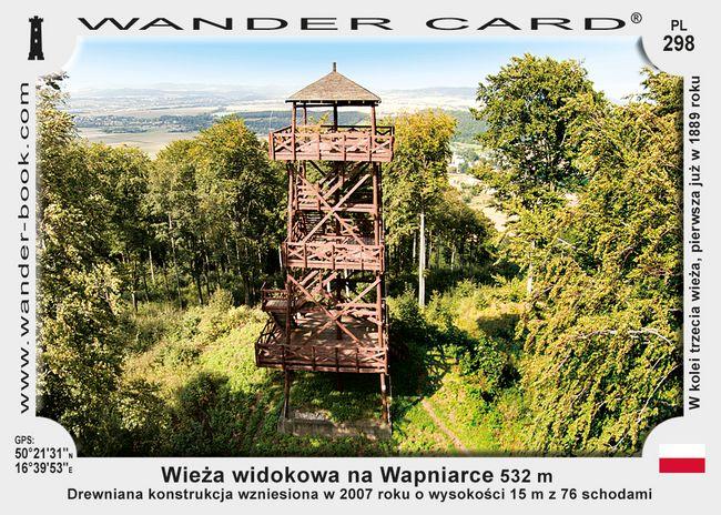 Wieża widokowa na Wapniarce