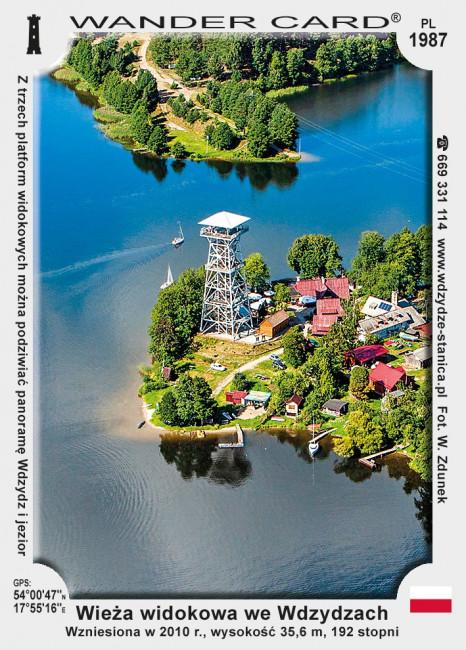 Wieża widokowa we Wdzydzach