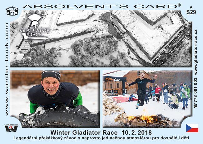 Winter Gladiator race - 10. 2. 2018