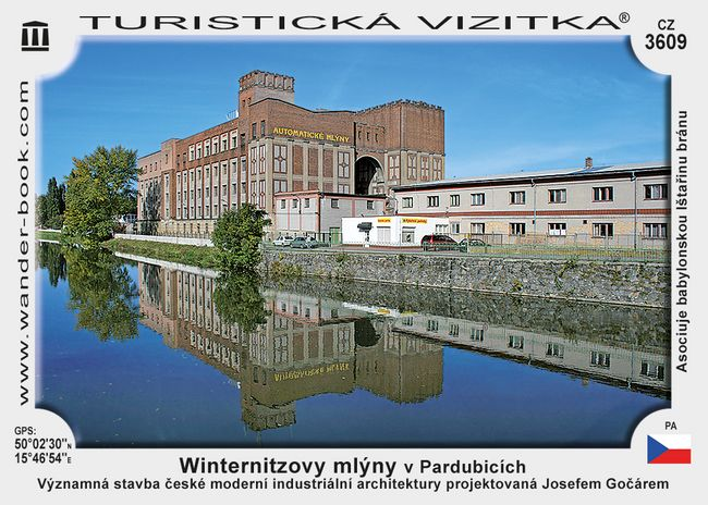 Winternitzovy mlýny v Pardubicích