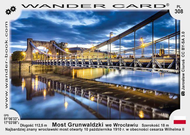 Wrocław most Grunwaldzki