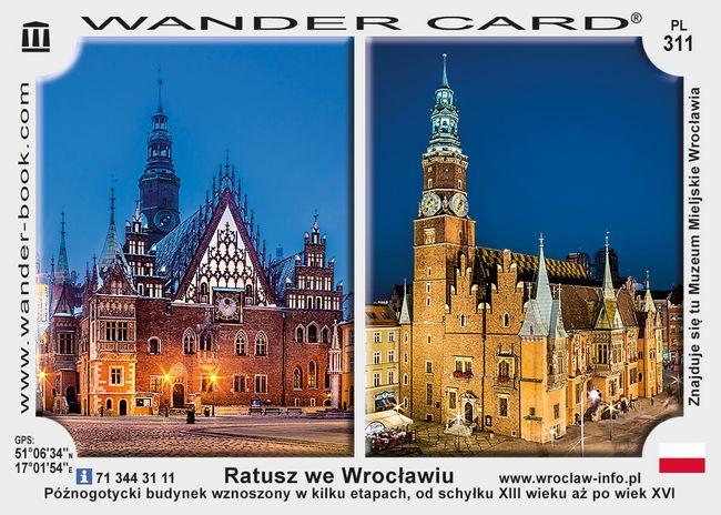 Wrocław ratusz