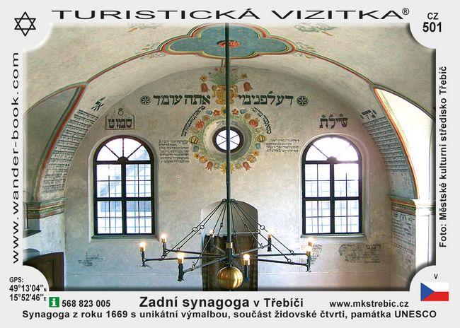 Zadní synagoga v Třebíči