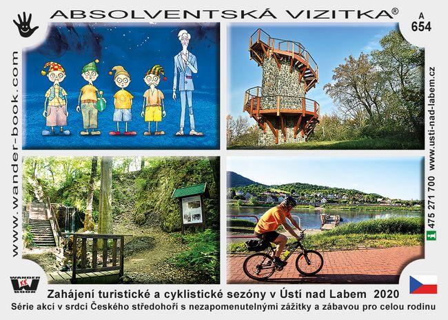 Zahájení turistické a cyklistické sezóny v Ústí nad Labem  2020