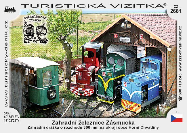 Zahradní železnice Zásmucka