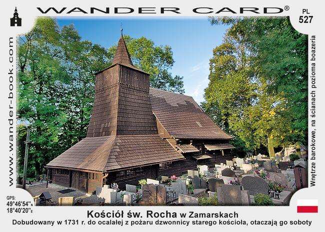 Zamarski kościół św Rocha