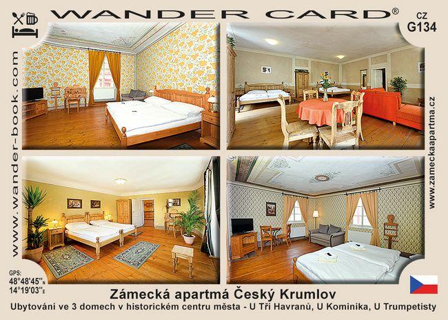 Zámecká apartmá Český Krumlov
