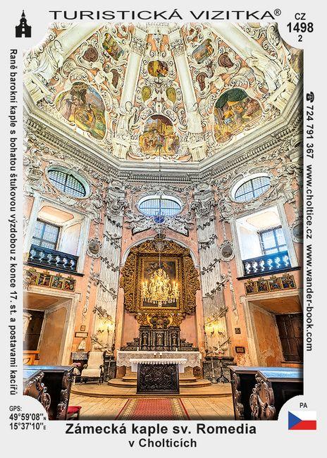 Zámecká kaple sv. Romedia v Cholticích