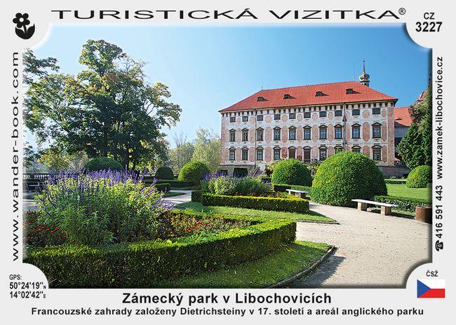 Zámecký park v Libochovicích