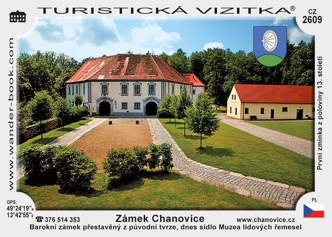Zámek Chanovice