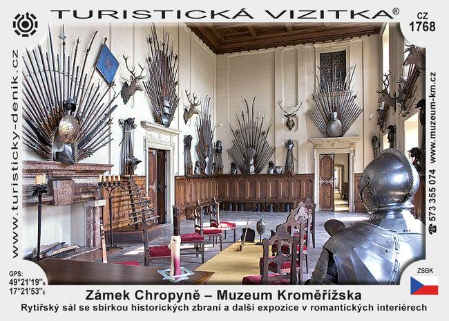 Zámek Chropyně - Muzeum Kroměřížska