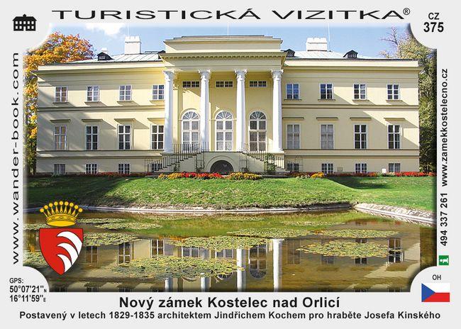 Nový zámek Kostelec nad Orlicí