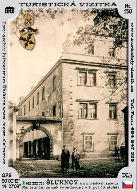 Zámek Šluknov