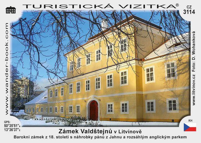 Zámek Valdštejnů v Litvínově