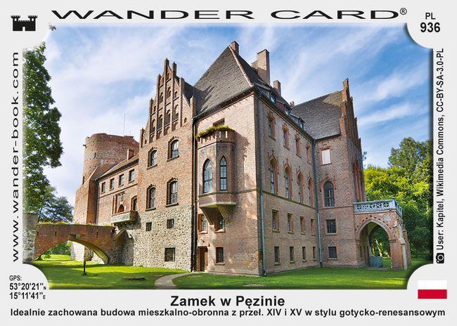 Zamek w Pęzinie