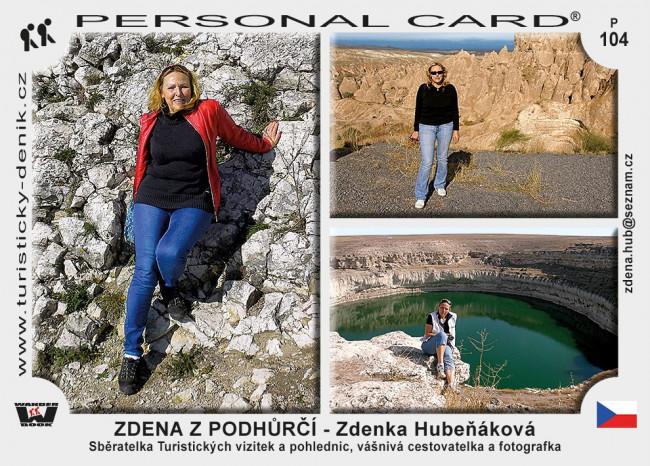 ZDENA Z PODHŮRČÍ - Zdenka Hubeňáková